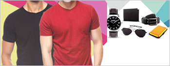Upto 91% OFF on Mens Combo + Extra 3% Cashback