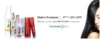 Upto 12% OFF on Matrix Products